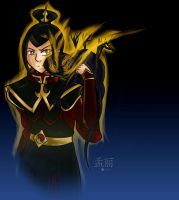 ATLA/LOK: Azula and The Dark Spirit by agent-ayu
