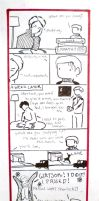 BBC Sherlock comic: the test by Graphitekind