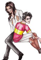 James and Sirius by Chocotoffe