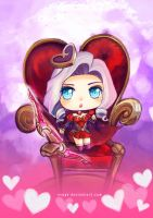 Heart seeker ashe by Xsaye