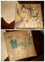 a gift wrap for my friend by nanuki
