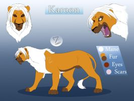 Lion Karoon reference by Mirri