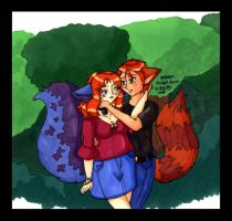 A Walk in the Park by bittykitty