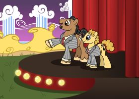 Penn and Teller Ponified by ImagineNationAG