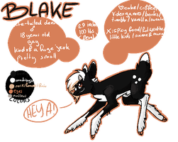 Blake Ref by KryptoniteRogue
