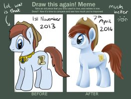 Draw this again - Study Buddy by Cloudy-Dreamscape