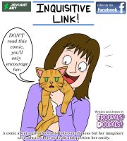 Inquisitive Link Advert magazine by Froodals
