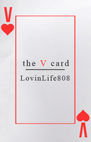 The V Card by letterbyowl