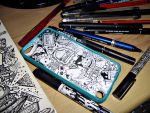 doodle : itouch 5 case by akosiTeng