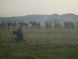 Confederates on the Run by CeresIce