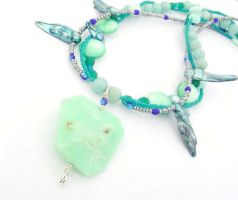 Lagoon Necklace by sojourncuriosities
