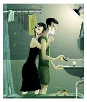 A close shave by gobeldygook