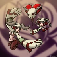 Skullgirls: SG-Tan by southpawper