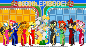Minerva Celebrates The Price is Right 8000th Show by tpirman1982