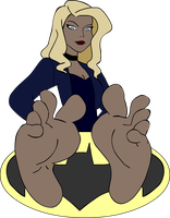 Black Canary in stocks by T95Master
