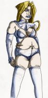 Emma Frost Chubbified Color by DaBSDK