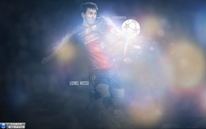 Lionel Messi | Wallpaper by ClydeGraffix
