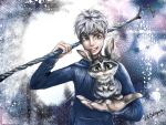 Jack Frost x Easter Bunny - Rise of the Guardians by xLaSlayer