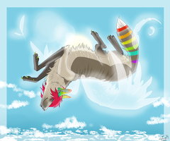 I Can Fly. by Secruffience