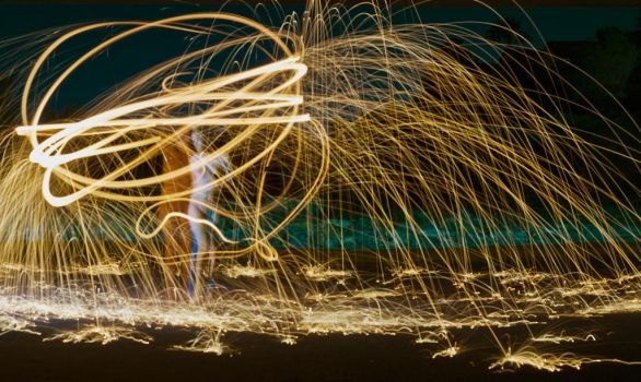 Playing with Fire 04 by deCaniaPhoto