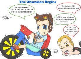The Obsession Begins by Beckylynne