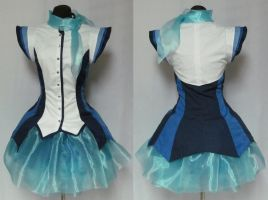 Aoki Lapis Vocaloid Cosplay Costume by Gypsy-Red