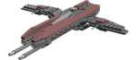 Hellanite Trireme Class Cruiser by Shpleem