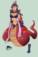 Naga the (actual) Serpent by Kathalia