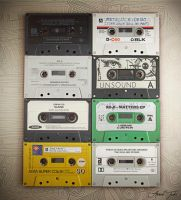 Cassette Tapes ! by AhmadTurk
