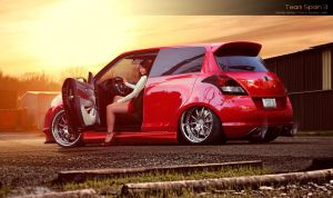 Suzuki Swift Round 3 WTB 2013 by VaroDesign