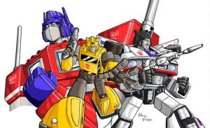 Transformers by RedShoulder
