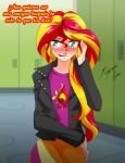 Sunset Shimmer - Feliz by Shinta-Girl
