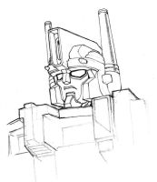 Ultra Magnus - head study by Whelljeck