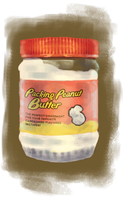 Packing Peanutbutter by Feyoka