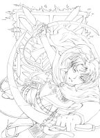 Levi - Outlines x3 by Sellue