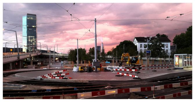 Zurich after the rain rush by 13-septembre