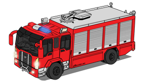 Gigus XM-240 - Rescue tools truck by VachalenXEON