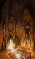 Kalayna gothic temple by pawlack