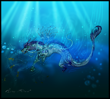 Water Dragon by Ali-zarina