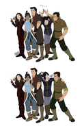 Legend of Korra - How the Team Should Be by Tsenny