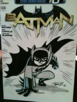 Batman Cover sketch by tombancroft