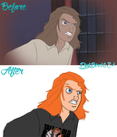 BATB: The Enchanted Christmas - Before and After by PinkBird621