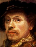 Rembrandt self portrait study by GDSWorld