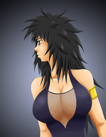 Old speed paint: Sheridan profile by Shouhda