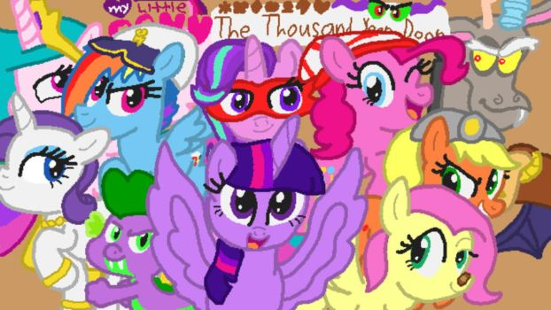 MLPTTYD Cover Art by 4swords4ever
