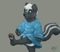 Big Shirts Are Fun by OzzieAstaroth