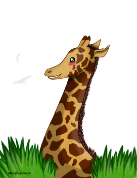 Look it's a Giraffe! You don't see those everyday! by McwitherzBerry