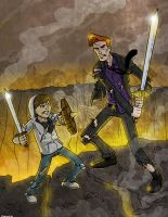 Conan VS Justin by Finfrock