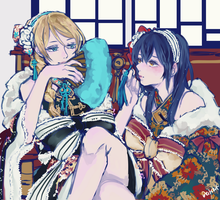 Umi and Eli by Kaiet