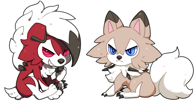 Lycanroc by hereiskoko